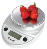 Escali Chrome Digital Kitchen Scale