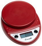 Escali Red Digital Kitchen Scale