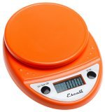 Escali Orange Digital Kitchen Scale